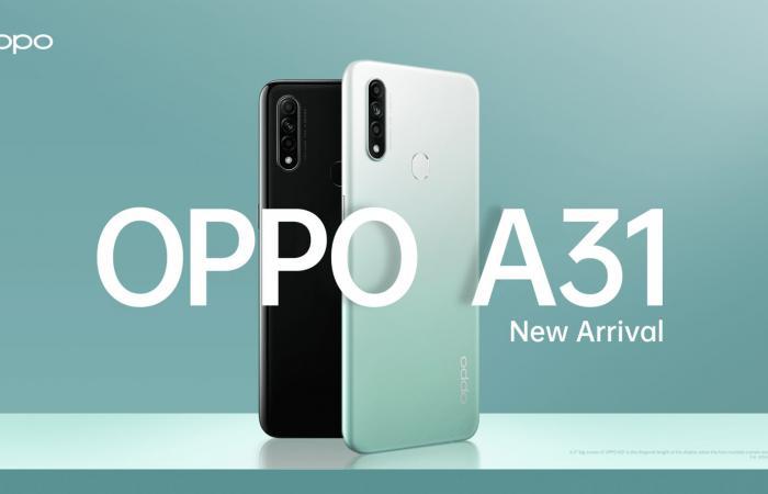 أوبو تعلن عن هاتف Oppo A31 بسعر منافس