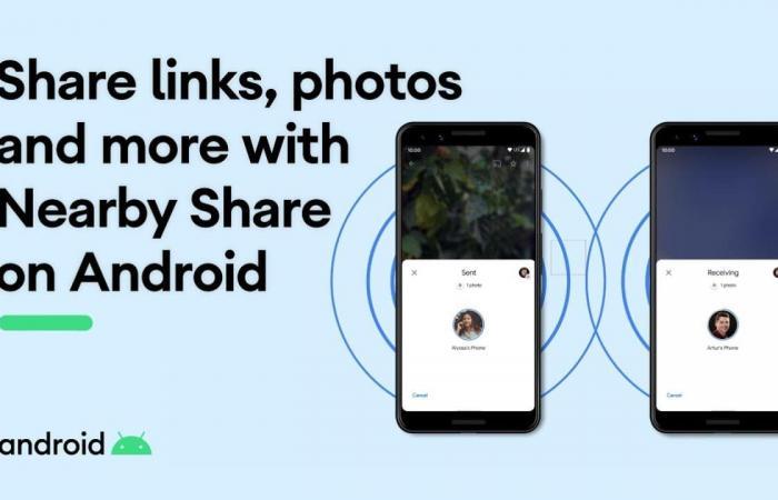 جوجل تعلن رسميًا عن إطلاق خدمة مشاركة الملفات Nearby Share