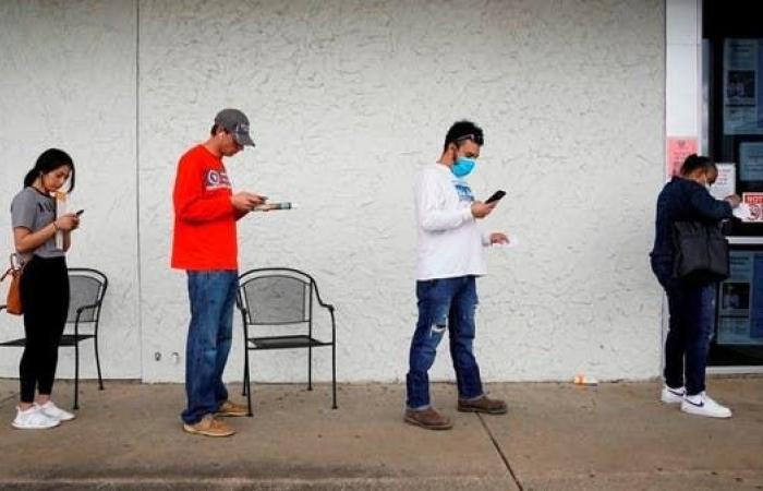 ارتفاع طالبي مساعدات البطالة في أميركا