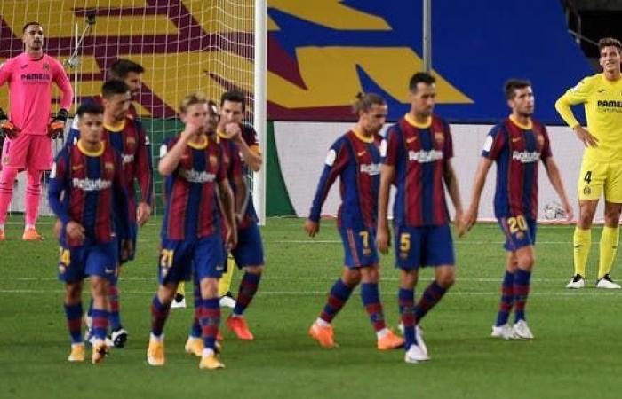 برشلونة كومان ينطلق بفوز كبير على فياريال