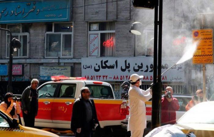 حالة وفاة بكورونا كل 5 دقائق في إيران 