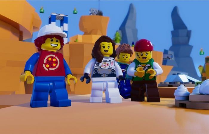 LEGO Microgame .. منصة لبناء الألعاب عبر مكعبات ليغو الافتراضية