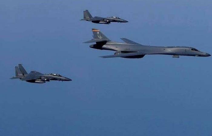 القيادة المركزية الأميركية تنشر قاذفات B-52H في الشرق الأوسط