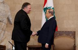 عون لبومبيو: لبنان مصمم على الحفاظ على حقوقه وسيادته برًا وبحرًا